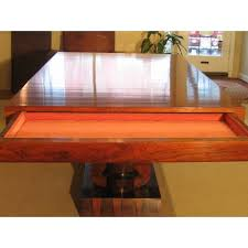 1930s art deco rosewood dining table c art deco rosewood dining