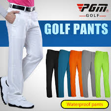 PGM Golf Clothing Waterproof Golf <b>Trousers</b> For Men Quick Dry Golf ...