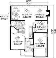 Two Bedroom Bungalow House Plan   PM   st Floor Master Suite    Floor Plan