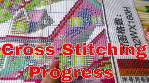 <b>Cross</b> Stitch WIP. <b>Joy Sunday</b>. I DIY Paint . - YouTube
