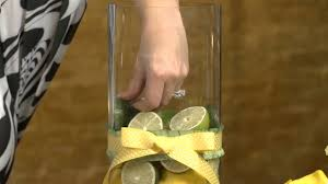 Lemon And Lime Kitchen Decor How To Create A Centerpiece With Lemons Limes Event Flowers