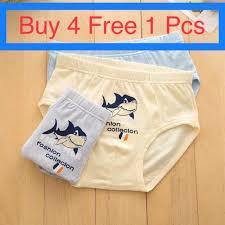 <b>5pcs</b>/<b>lot</b>-<b>High Quality</b> Kids Cotton Brief Underwear (seluar dalam ...