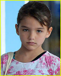 Suri Cruise was verbally attacked after ignoring mobs of individuals, and was called very explicit names – Huffington Post; Will there be a Sharknado sequel ... - suri-cruise-sworn-at-by-photographers