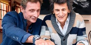 <b>Rolling Stone</b> Ronnie Wood on Painting Time - WSJ