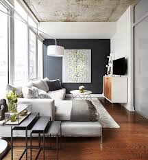 chic large wall decorations living room: contrast color wall freshome feature wall  contrast color wall
