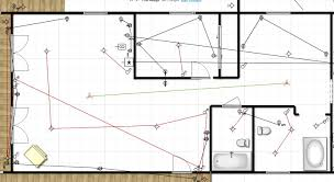 Lake House Renovation Project  Electrical Layout Plan   DraftsOutlets  Switches and Light Plan