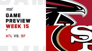 Atlanta Falcons vs San Francisco 49ers Week 15 NFL Game Preview