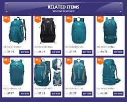 <b>50L</b> NEVO RHINO Waterproof Men's Backpack <b>Unisex</b> travel pack ...
