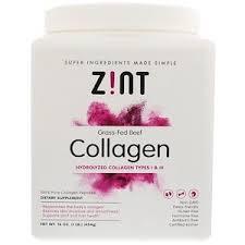 Z!NT, <b>Grass</b>-<b>Fed</b> Beef <b>Collagen</b>, <b>Hydrolyzed Collagen</b> Types I & III ...