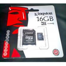 Отзывы о <b>Карта памяти Kingston</b> MicroSDHC 16Gb Class 10