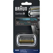 Braun <b>Shaver Replacement</b> Part 92S <b>Silver</b> - Compatible with Series ...