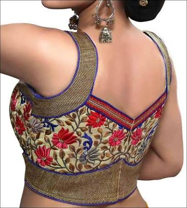Neck Blouse Designs