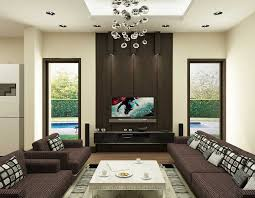 beautiful living room interior design with black sofa also cute modern ceiling lights charm impression living room lighting ideas