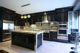 finish kitchen island  contemporary kitchen ideas displaying black finish kitchen island wit