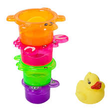 Купить <b>BONDIBON для купания стаканчики</b> с уточкой colorful в ...