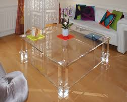 split level coffee table acrylic furniture uk