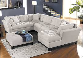 cindy crawford home decor mobile picture of cindy crawford home metropolis platinum  pc sectional livin