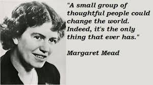 Amazing 21 suitable quotes by margaret mead photo French via Relatably.com