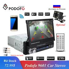 "Online Shop Podofo Car Stereo Audio Radio Bluetooth <b>1DIN 7</b>"" HD ..."