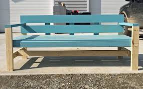 modern outdoor bench plans from ana whitecom ana white build office