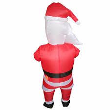 <b>Adults</b> Santa Claus <b>Inflatable Costume Christmas Halloween</b> ...