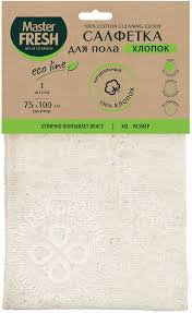 Купить <b>Салфетка</b> для пола <b>Master Fresh</b> Eco Line 75*100см с ...