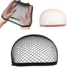 2/12pcs Breathable Wig Cap Hairnet <b>Adjustable</b> Nylon <b>Weaving</b> ...