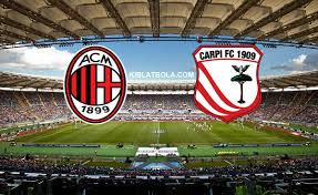 Hasil gambar untuk logo AC Milan vs Carpi
