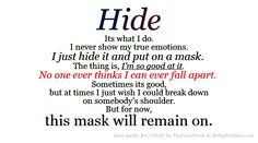 Mask Quotes on Pinterest | Love Rain Quotes, Inception Quotes and ...