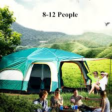 <b>Outdoor Sports Camping</b> Tents Windproof Rainproof Super 8 12 ...