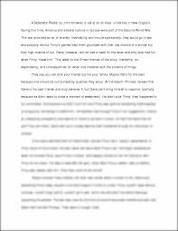 a separate peace essay a separate peace by john knowles is set this preview has intentionally blurred sections sign up to view the full version