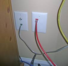how to install an ethernet jack for a home network 4 port ethernet wall plate