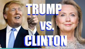 「クリントンかトランプか?」の画像検索結果