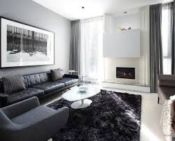 awesome gray white living room interior with big modern sofa and armchair decorated by big windows awesome large living room
