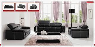 living room furniture sets black sofa
