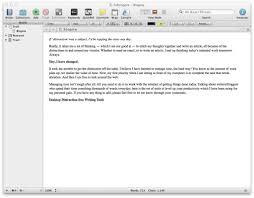novel writing software mac os x