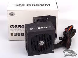 Обзор <b>блока питания CoolerMaster</b> G650M: бронзовая середина ...