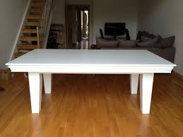 7ft dining table: pool dining table ft in white blue