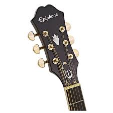 <b>Epiphone PR</b>-<b>5E</b> Natural Gold Hardware With Shadow Preamp ...