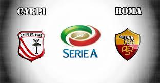 Image result for Serie A: Carpi vs Roma LOGO