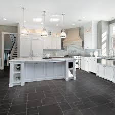 Large Floor Tiles For Kitchen Black Vinyl Kitchen Flooring Outofhome