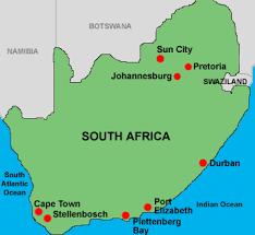 Image result for stellenbosch map