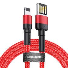 <b>Кабель Baseus Cafule</b> Special Edition Lightning 2м Красный