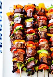 <b>Grilled</b> Steak <b>Kebabs</b>