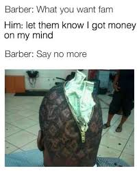 barber meme on Pinterest | Barbers, Meme and Above And Beyond via Relatably.com