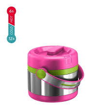 <b>Термос</b> для еды Emsa Mobility <b>Kids</b> (0,65 литра) розовый/зеленый