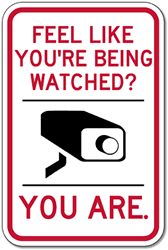 Image result for you're being watched