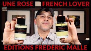 Editions <b>Frederic Malle</b> Une Rose, <b>French Lover</b> + <b>Frederic Malle</b> ...