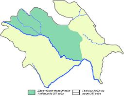 Кавказская Албания — Википедия