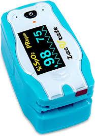 Children <b>digital fingertip</b> pulse <b>oximeter</b> blood <b>oxygen saturation</b> ...